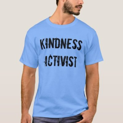 Kindness Activist Mens Tee