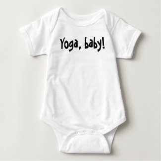 Yoga, baby! One-piece